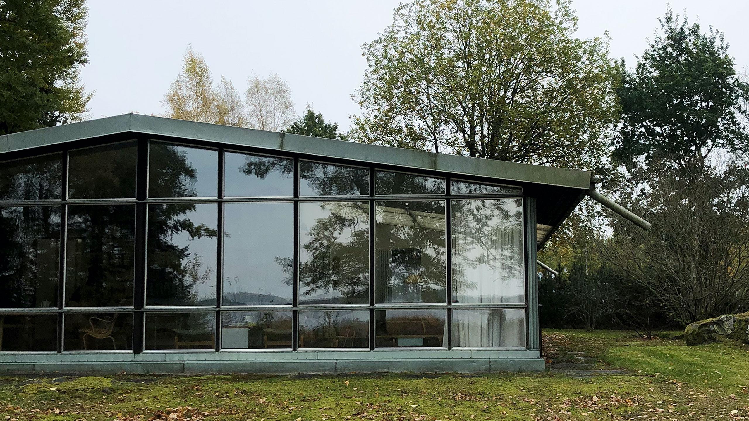 Exteriör Bruno Mathssons villa