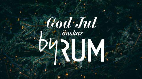 By Rum önskar god jul