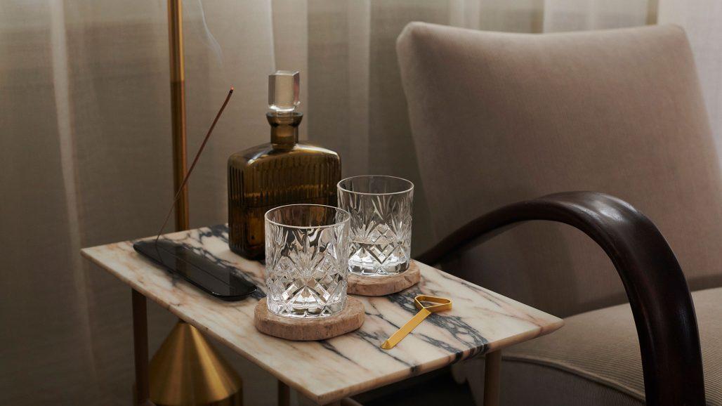 Drinkbord i Londonvåning