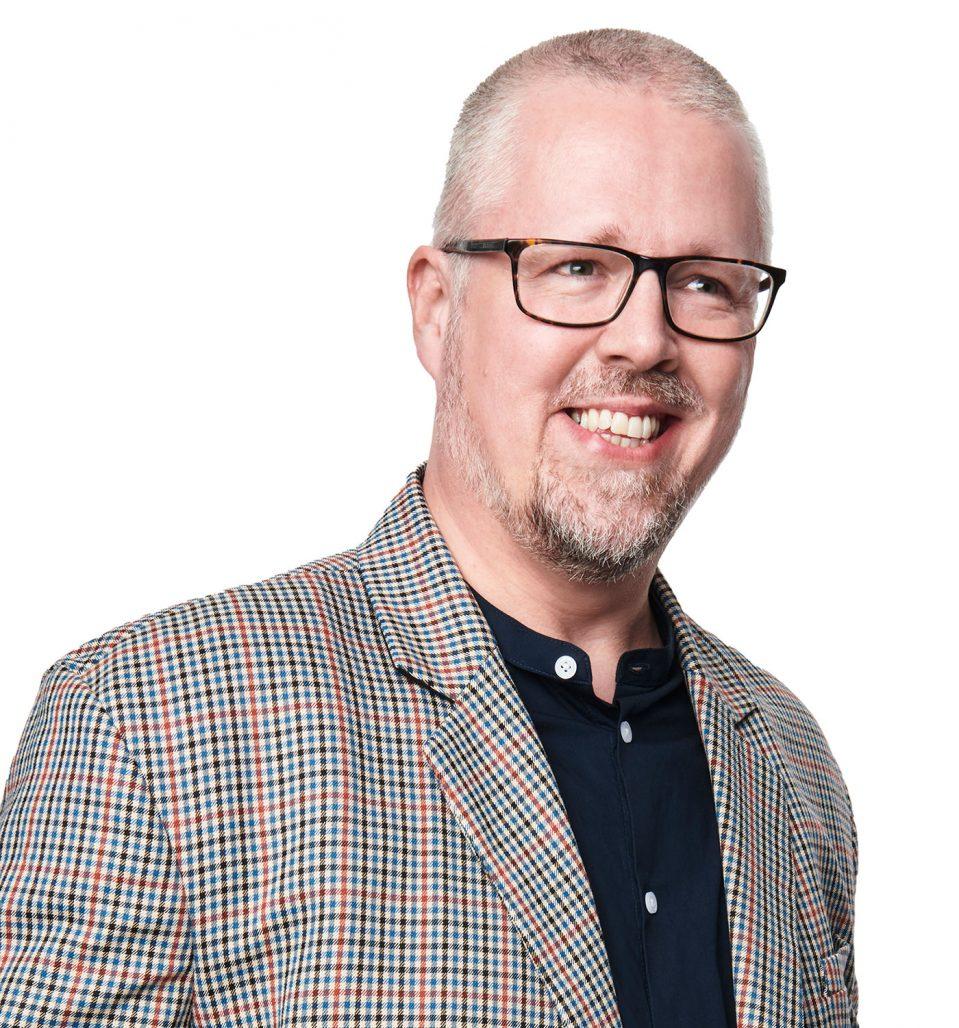 Pär Ove Andersson, säljare Tidskriften Rum