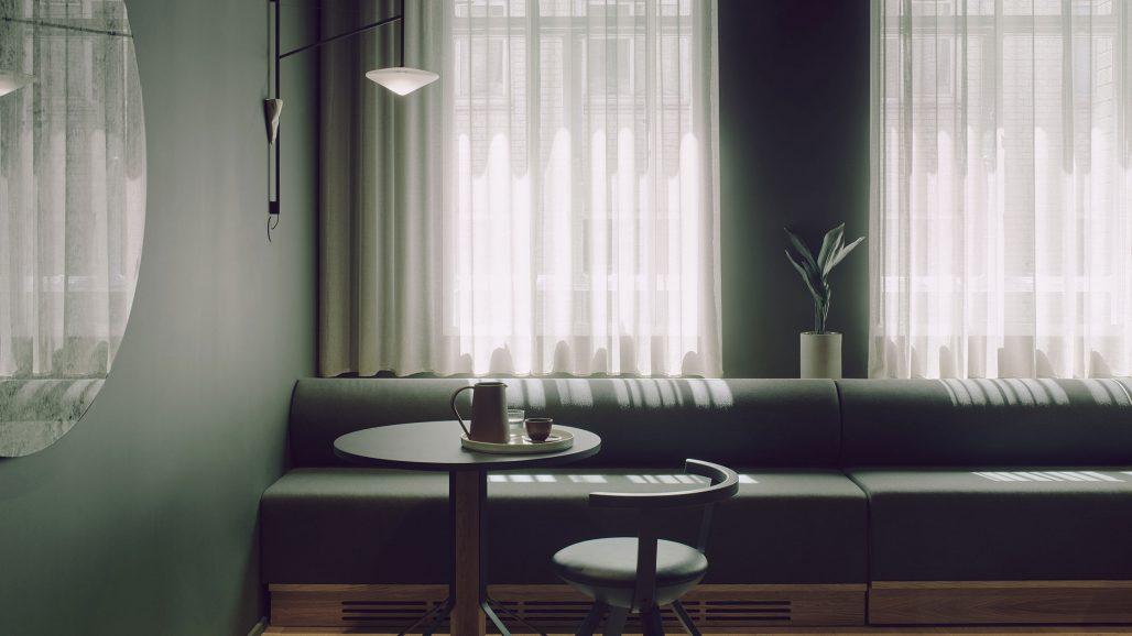 Lounge på Summit House co-workingkontor