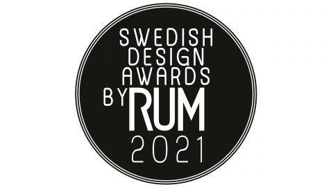 Swedish Design Awards by Rum logga
