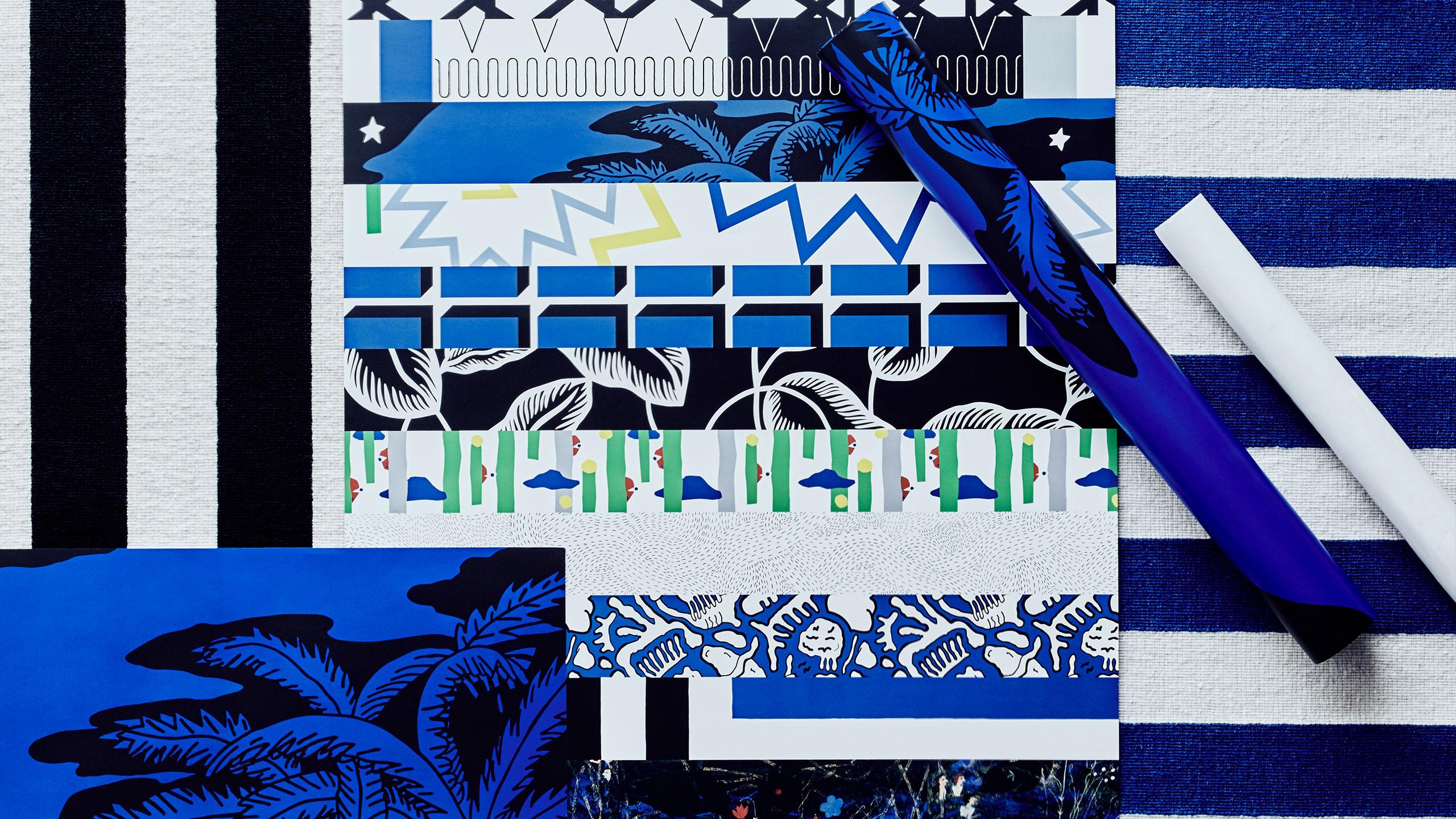 10-gruppens mönster i Ikeas kollektion Avsiktlig