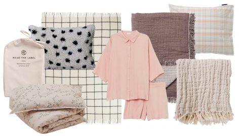 textilier för sovrummet