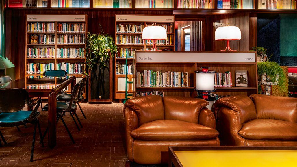 Lounge på The Standard I London