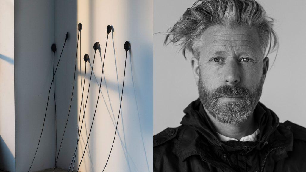 Daniel Wester och verk ur kollektionen Strävan