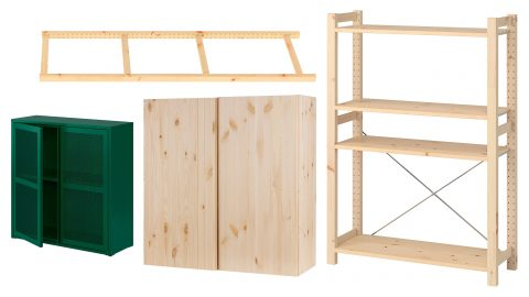 Ikeas förvaringssystem Ivar