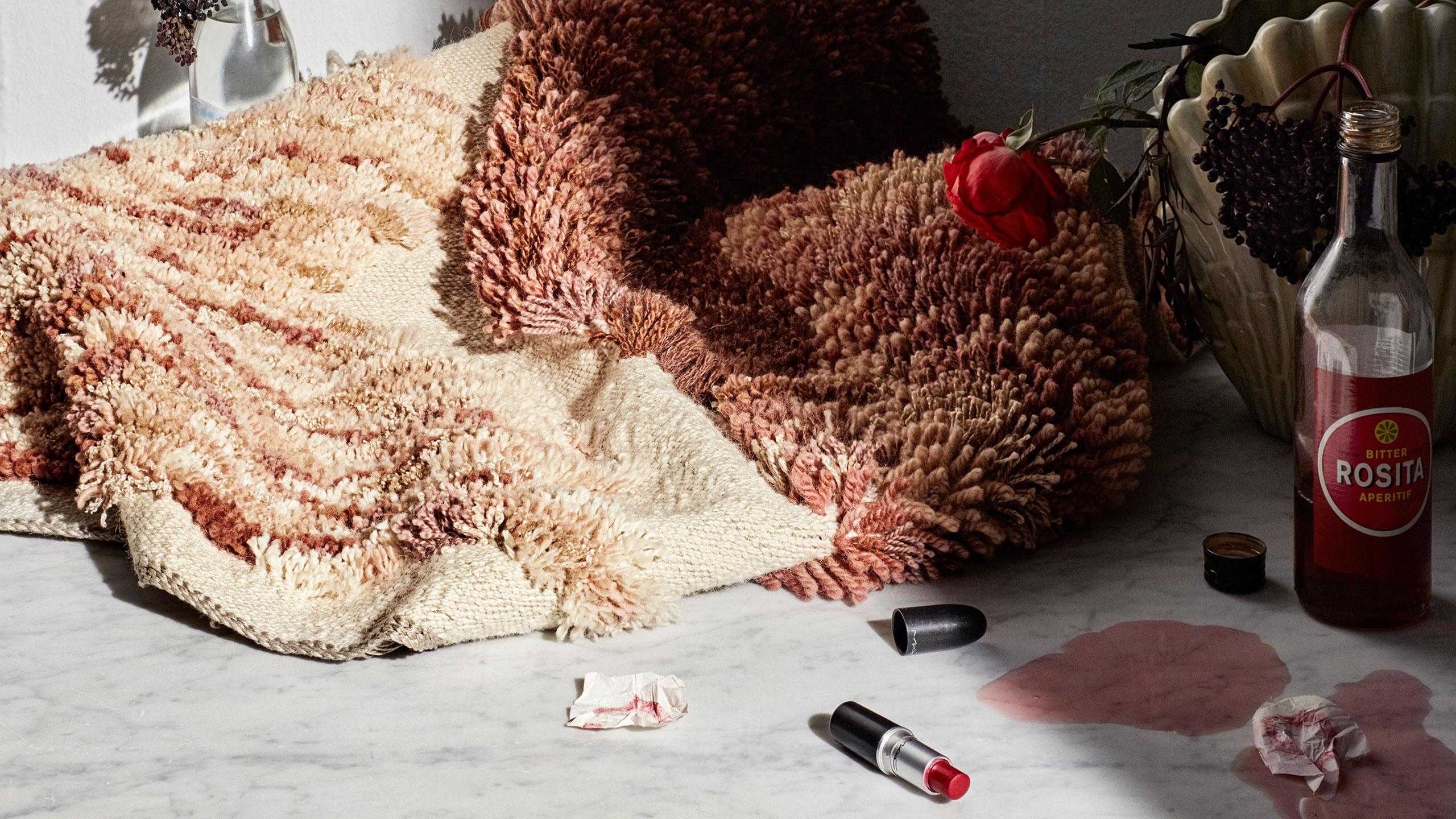 Textilväv av Miriam Parkman