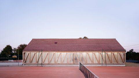 Tennisklubbens omklädningsrum