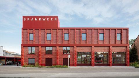 Brandstation i Antwerpen