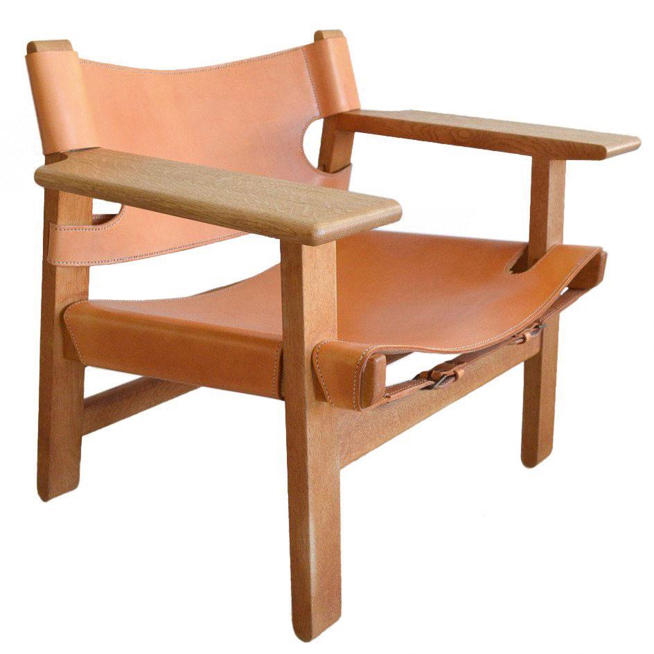 Loungestolen Spanish Chair av Børge Mogensen