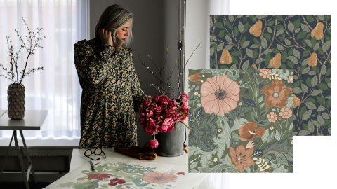 Hanna Wendelbo och hennes mönster