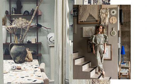 Linnéa Salmén och hennes studio