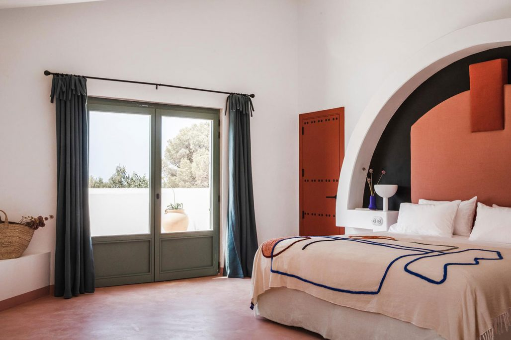 Menorca experimental bedroom