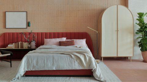 Sovrum i Studio Hygge