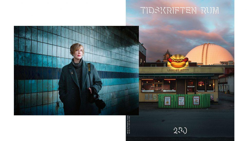 Alison De Mars har fotograferat omslaget till Tidskriften Rum