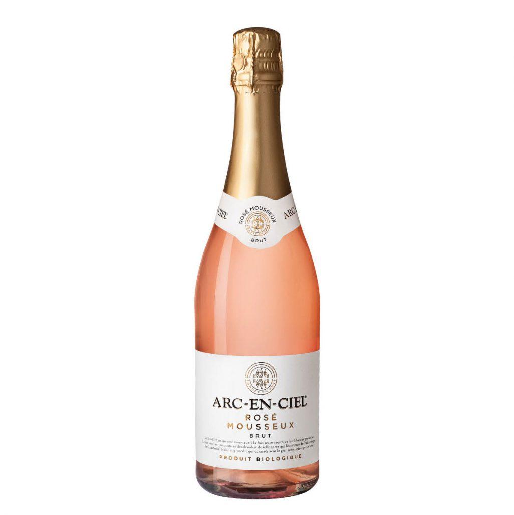 Ekologiskt och alkoholfritt rosébubbel