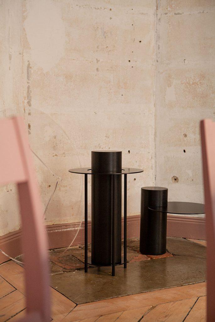 Sidobord ur kollektionen Artefacts hos Straight Design Studio