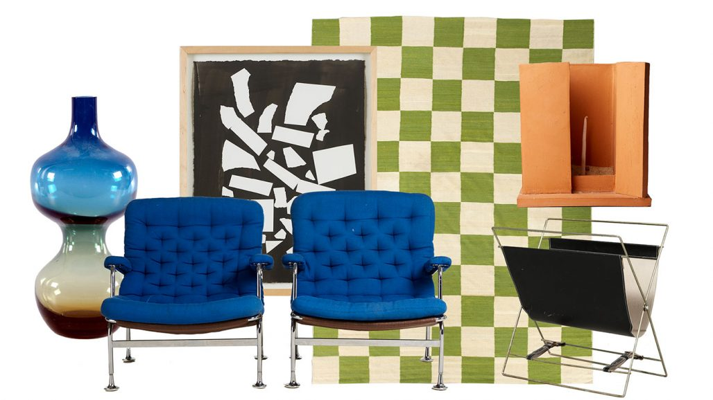 Auktionsfynd från Bruno Mathsson, Pukeberg, Hertha Hillfon