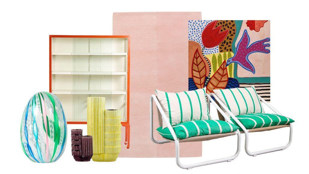 Färgstarka auktionsfynd från Asplund och Gunnar Nylund