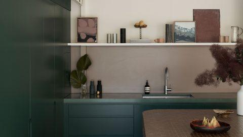 Kök i modernistisk villa i Australien