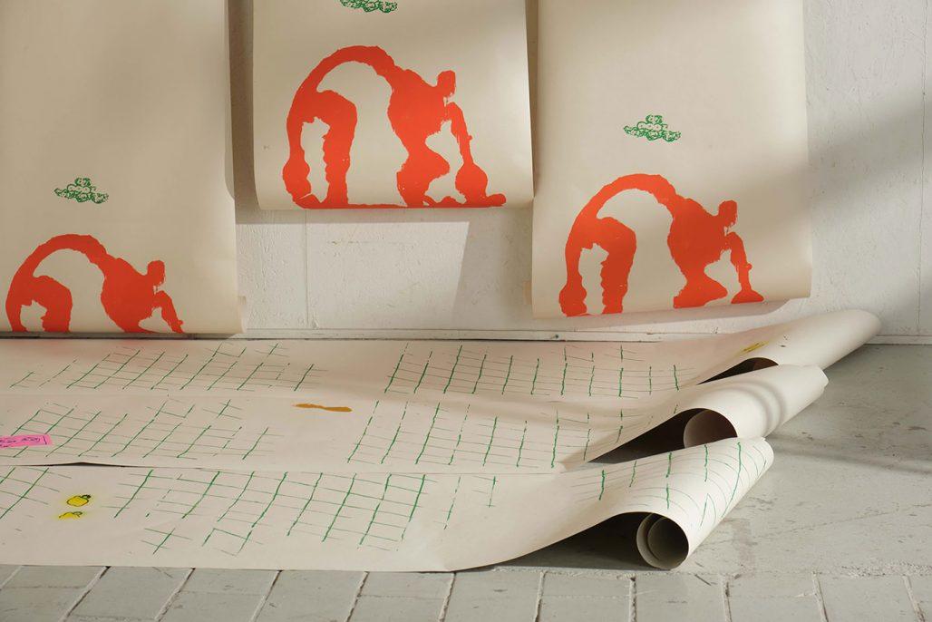 Verk av Andreas Wallroth ur utställningen Hotmix #2 The Modern Dwelling