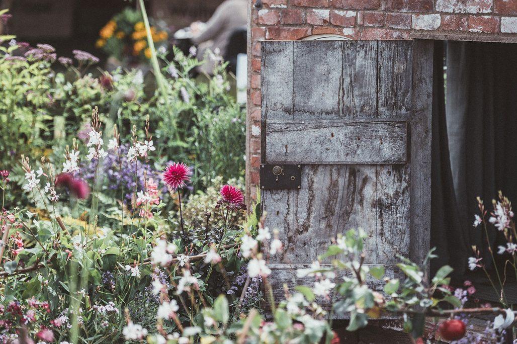 Blommor i köksträdgården