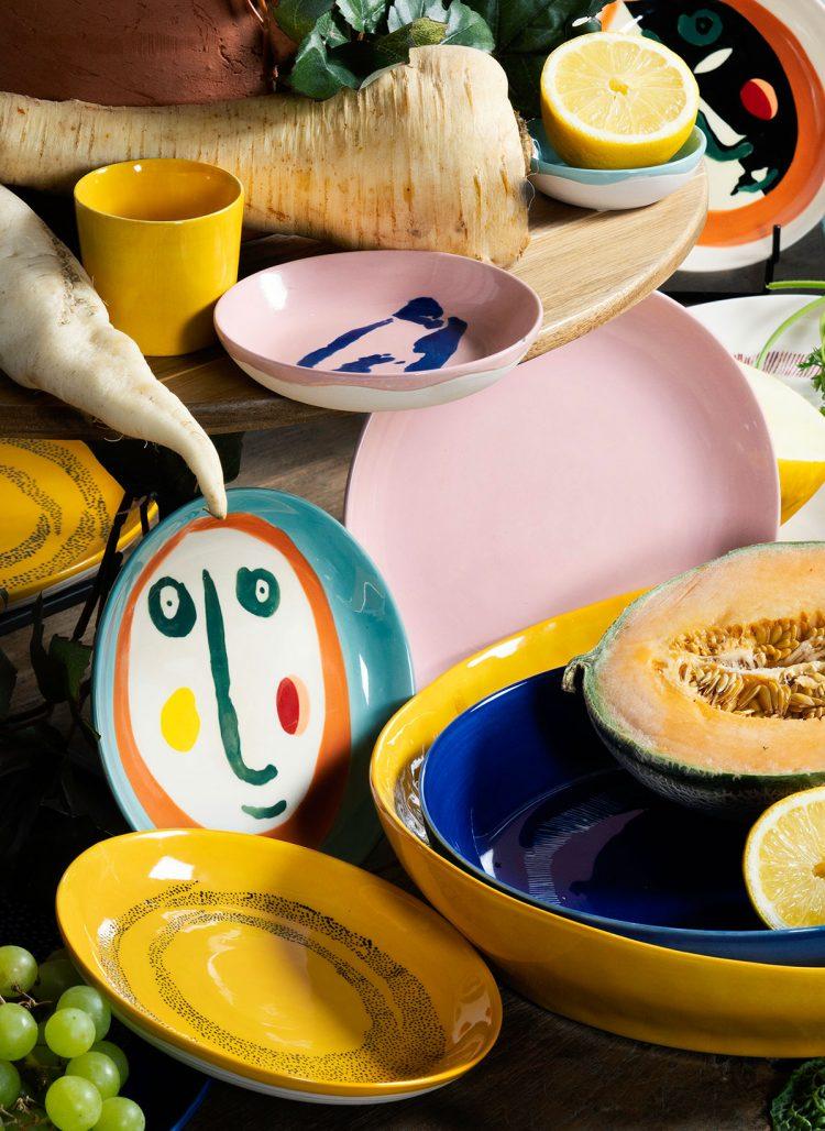 Porslinskollektionen Fest från Serax