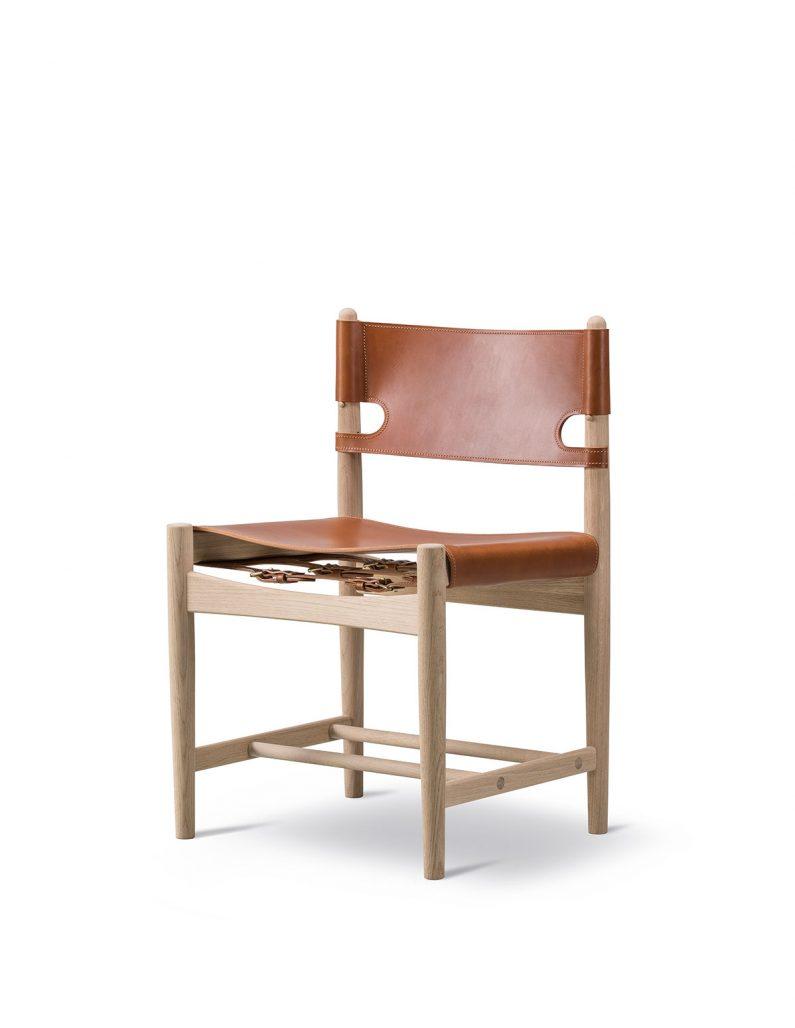 Spanish dining chair av Børge Mogensen
