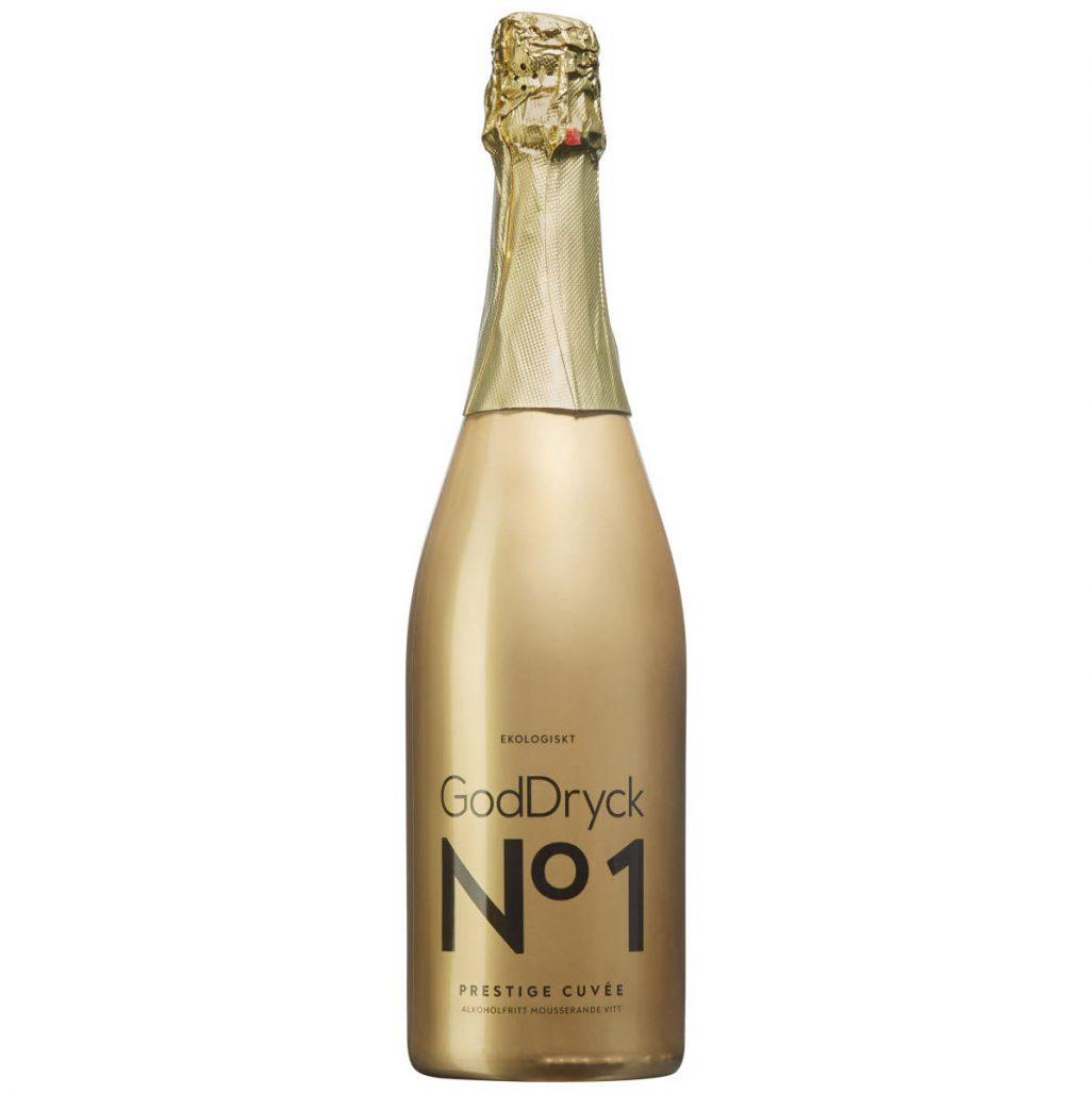 Alkoholfritt bubbel God Dryck No 1 Prestige Cuvée