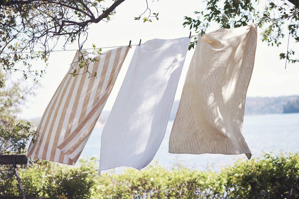 Textilier i naturliga material från By Linen