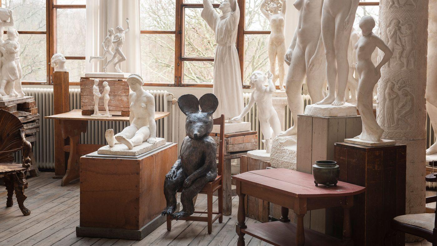 Utställning med Klara Kristalova