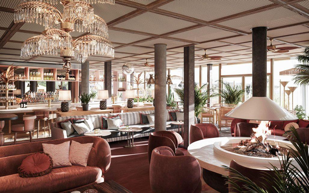 Lounge på Ellery Beach House