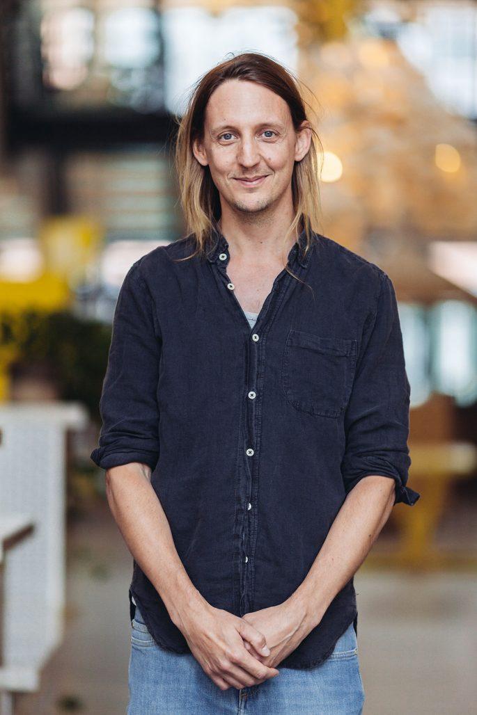 Filip Johansson, grundare av trädgårdsappen Gardenr
