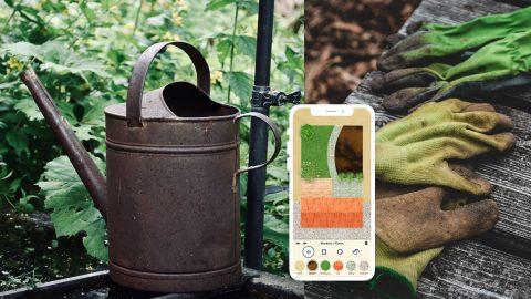 Appen Gardenr hjälper dig med trädgårdsarbetet