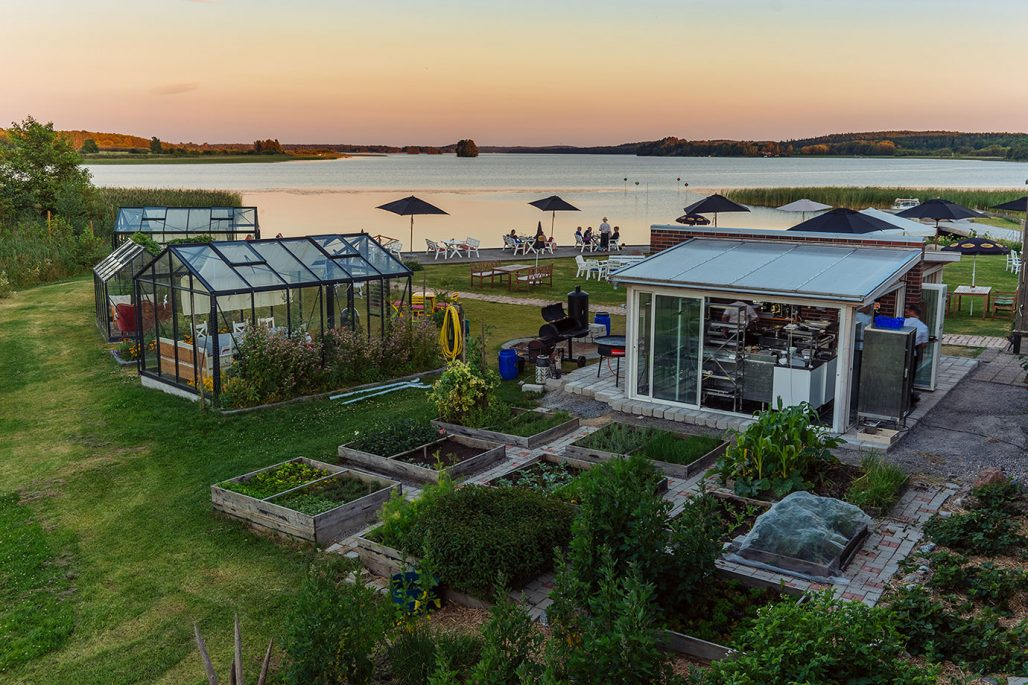 Café och restaurang på Hornuddens trädgård