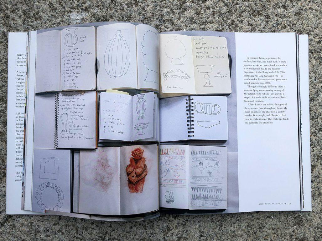 Frances Palmer visar upp sin kreativa process i boken Life in the Studio