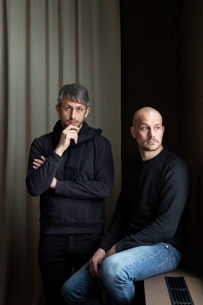 Jonas Norheim och Morten Skjærpe Knarrum utgör designduon Morten & Jonas