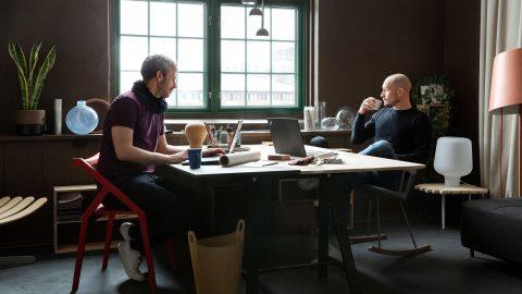 I studion med Morten & Jonas