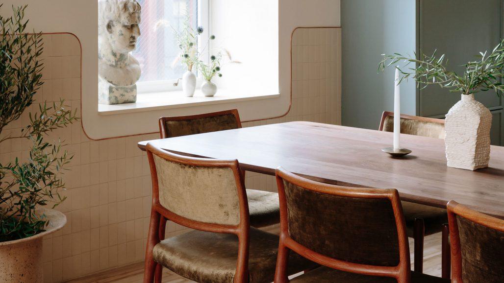 Kök i New York-lägenhet av Home Studios
