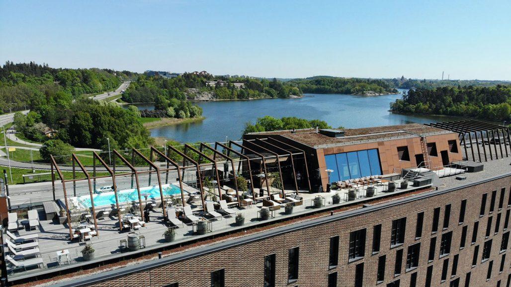 The Winery hotell med pool på takterrassen