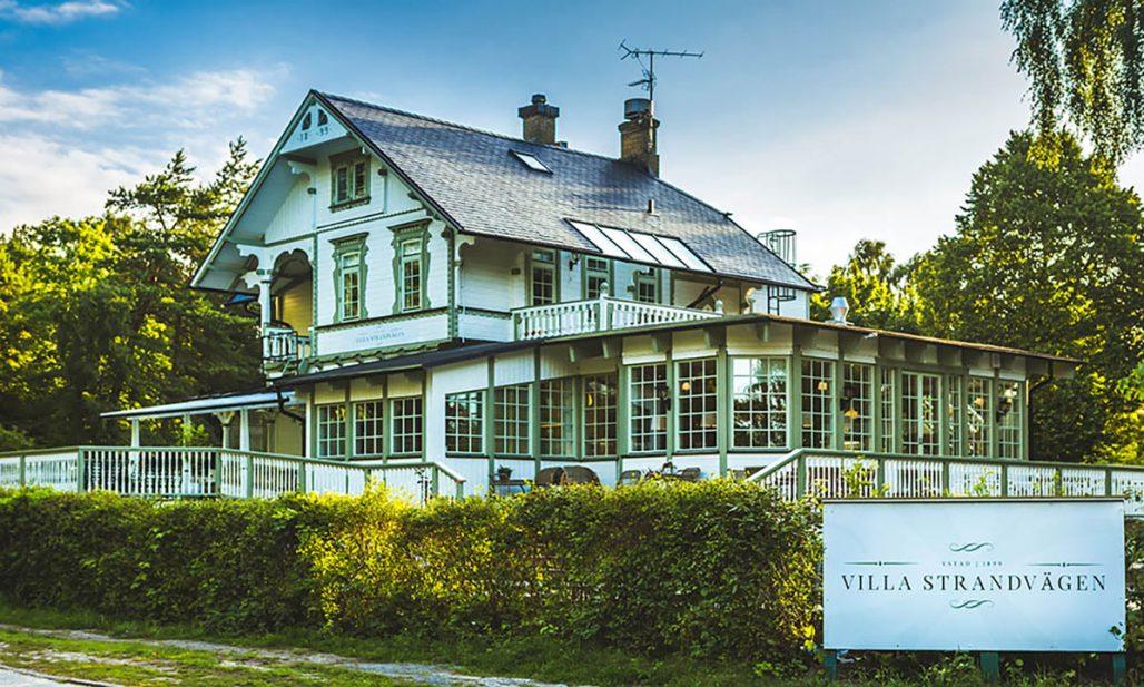 Hotellet Villa Strandvägen i Ystad