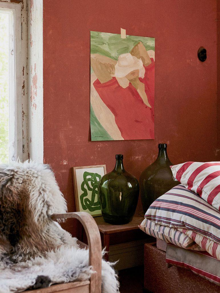 Konst ur kollektionen Art Bouquet från Wall of Art
