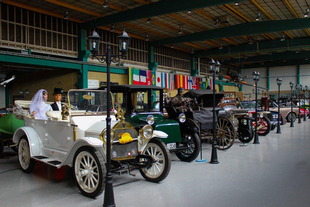 Bilsamling på Autoseum i Simrishamn