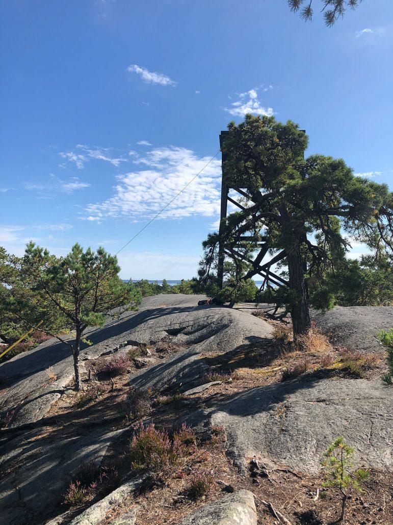 Björnö naturreservat på Värmdö