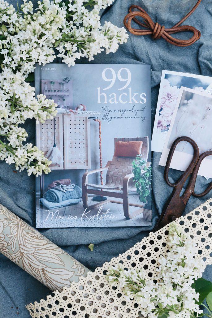 Monica Karlsteins bok 99 hacks – från massproducerat till genuin inredning