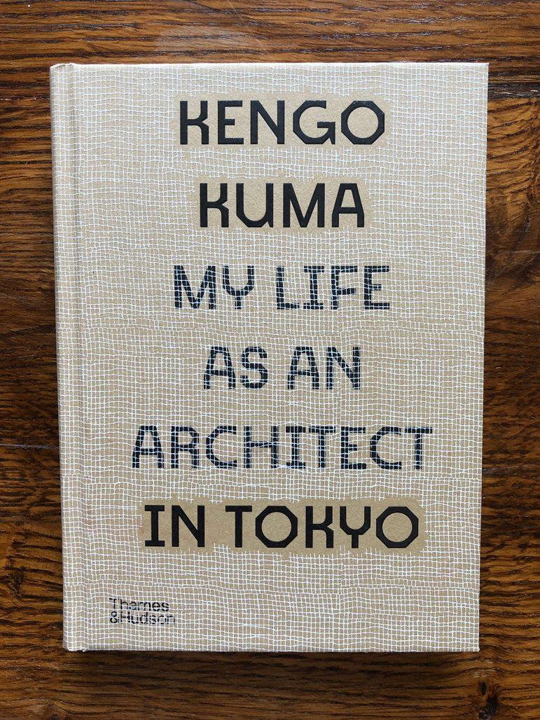 "Bokomslag till Kengo Kumas ""My life as an architect in Tokyo"""