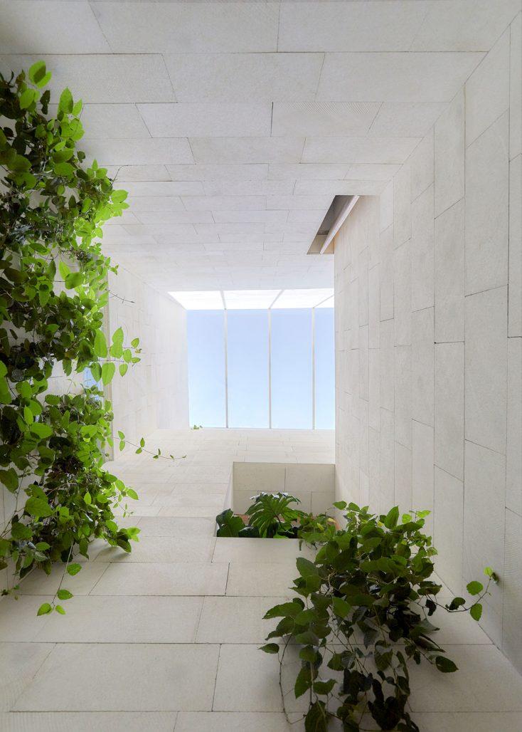 Arkitektoniska detaljer på hotellet Circulo Mexicano
