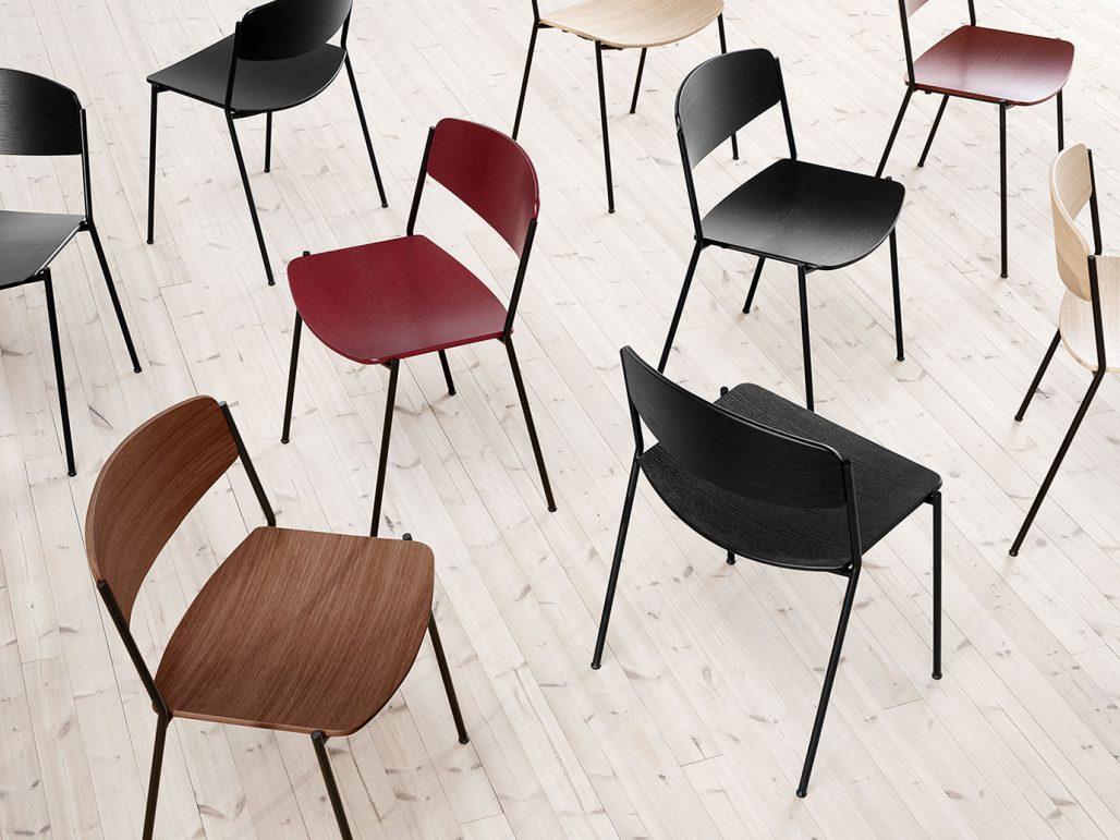 Stolen Lynderup Chair ritades av Børge Mogensen 1954 och lanseras nu av Fredericia Furniture