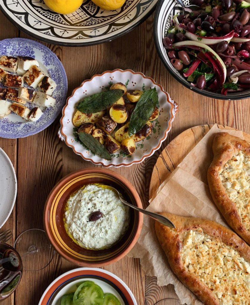 Mat och uppläggning av Gabriella Skog